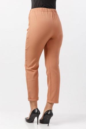 Bilek Boy Kumaş Pantolon TSD2097 Tarçın