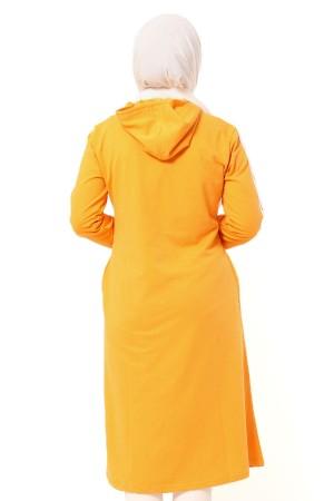 Tesettür Sweatshirt TSD0130 Sarı
