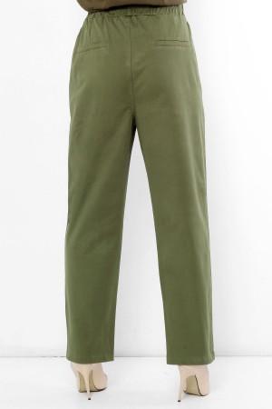Beli Lastikli Cepli Pantolon TSD2163 Haki