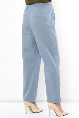 Beli Lastikli Cepli Pantolon TSD2163 Mavi