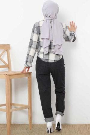Boyfriend Kot Pantolon TSD1523 Siyah