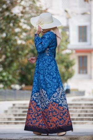 Dress double blue 423