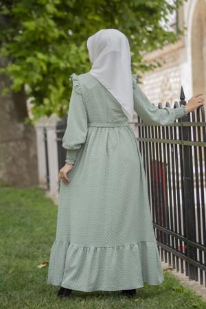 ayrobin dress green 5003