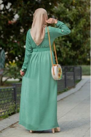 ayrobin seten dress green 4052