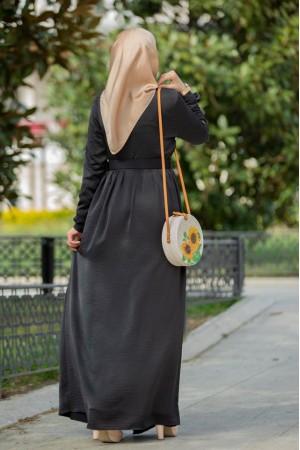 ayrobin seten dress black 4052
