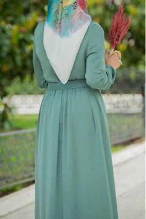 ayrobin seten dress green 4050